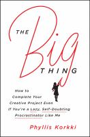 Cover art for The Big Thing