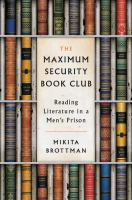 Cover art for The Maximum Security Book Club