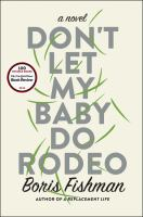 Cover art for Don't Let My Baby Do Rodeo