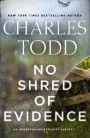 Cover art for No Shred of Evidence