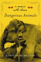 Cover art for Dangerous Animals