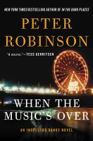 Cover art for When the Music's Over