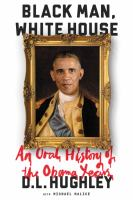 Cover art for Black Man, White House