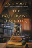 Cover art for The Taxidermist's Daughter