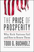 Cover art for The Price of Prosperity