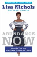Cover art for Abundance Now