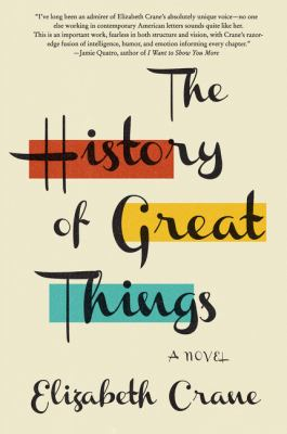 cover of The History of Great Things