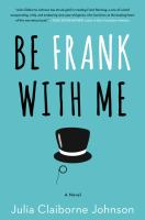 Cover art for Be Frank With Me