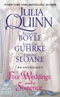 Four Weddings And A Sixpence : An Anthology by  © 2017 (Added: 9/6/17)