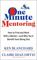 Cover art for One Minute Mentoring