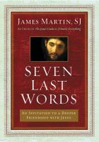Cover art for Seven Last Words