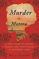 Cover art for Murder in Matera