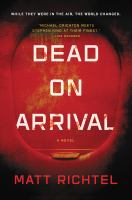 Cover art for Dead on Arrival
