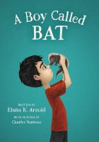 Cover Art for A Boy Called Bat