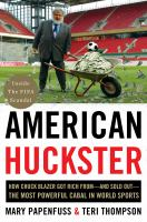 Cover art for American Huckster