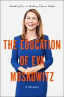 Cover art for The Education of Eva Moskowitz
