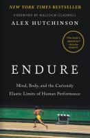 Cover art for Endure