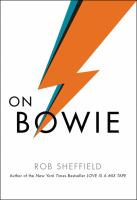 Cover art for On Bowie