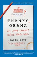 Cover art for Thanks, Obama