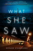 Cover art for What She Saw
