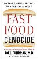 Cover art for Fast Food Genocide