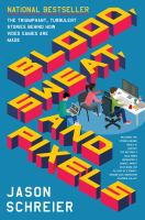 Cover art for Blood Sweat and Pixels