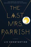 Cover art for The Last Mrs. Parrish