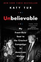 Cover art for Unbelievable
