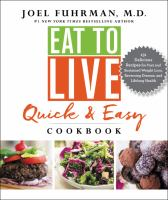 Cover art for Eat to Live