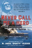 Cover art for Never Call Me a Hero