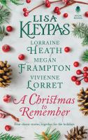 Cover art for A Christmas to Remember