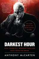 Cover art for Darkest Hour