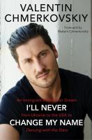 Cover art for I'll Never Change My Name