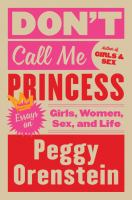 Cover art for Don't Call Me Princess