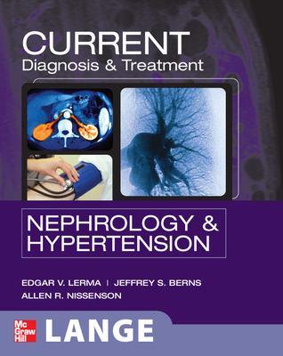 Current diagnosis & treatment. Nephrology & hypertension