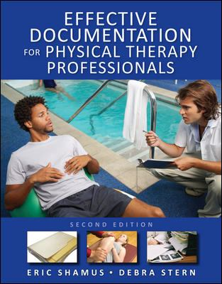 Effective Documentation for Physical Therapy Professionals cover