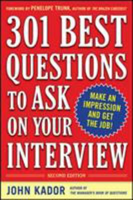 cover of 301 Best Questions to Ask on Your Interview