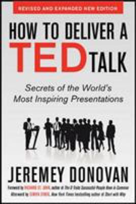 Details about How to deliver a TED talk : secrets of the world's most inspiring presentations