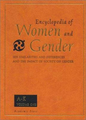 Book jacket for Encyclopedia of Women and Gender