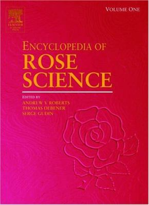 Bookcover - Encyclopedia of Rose Science