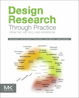 Book jacket for Design Research Through Practice