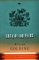 Cover art for Lord of the Flies