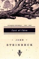 East of Eden by John Steinbeck (book cover)