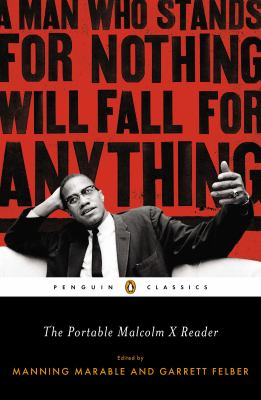Cover image for The portable Malcolm X reader