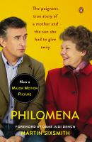 Cover art for Philomena