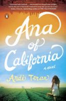 Cover art for Ana of California by Andi Teran