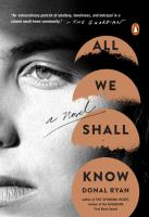 Cover art for All We Shall Know