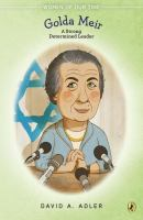 Cover art for Golda Meir