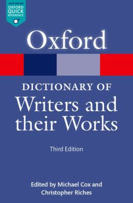 Oxford Dictionary of Writers and Their Works