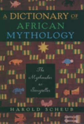 Cover art for A Dictionary of African Mythology